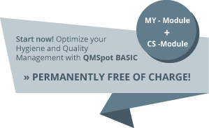 QMSpot - Administration Module - MY Module - Register here and start for free!